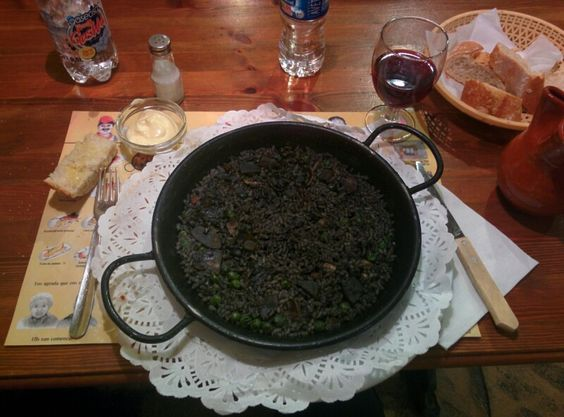 Arròs negre, arroz negro