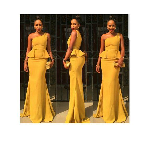 African dress, African gown, African maxi dress, African evening dress, African…