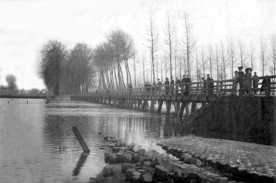 Hierderweeg Vootgängersbrök  1925