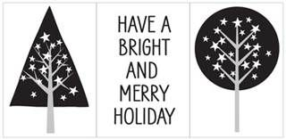 Hero Arts - Merry Holiday