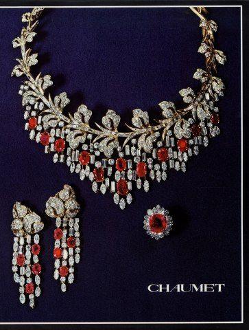 Chaumet (Jewels) 1979 Necklace Set of Jewels