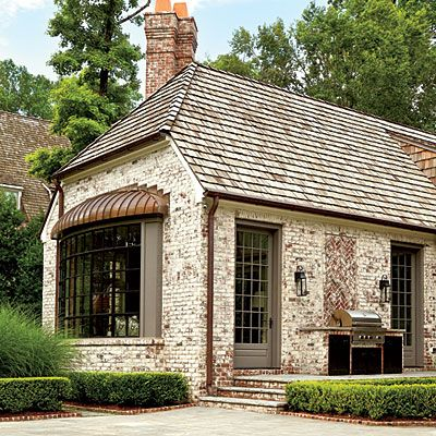 back of home featured in Southern Living magazine