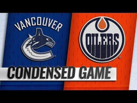 Vancouver Canucks Vs Edmonton Oilers Dec 27 2018 Game Highlights