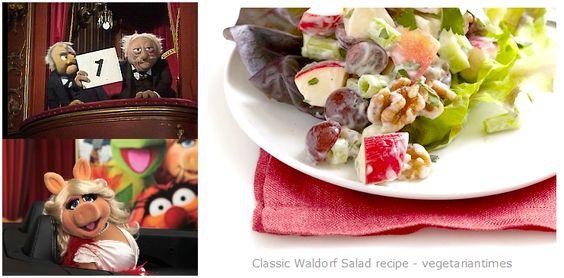 Salade Waldorf classique / Classic Waldorf Salad #vegan #glutenfree  @VegTimes #vegetariantimes @Mj0glutenVG #0GlutenVegeBrest #govegan #Waldorf #Salad #saladewaldorf #muppetshow #statler&waldorf