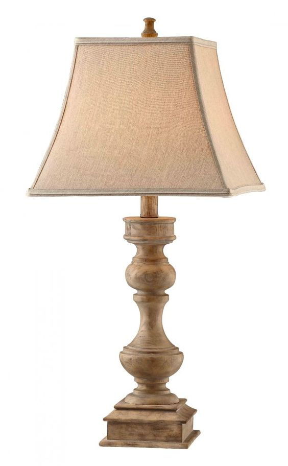Faux Wood Table Lamp  $119.99 Sku:101785 Dimensions:14Wx14Dx30.5H This casually elegant Faux wood table lamp is the perfect addition to any home! Please visit our website for warranty and benefits.