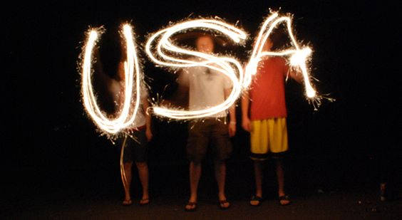 Point 'n' shoot / DSLR tips on how to take sparkler photographs for the 4th of July - One good thing by Jillee: