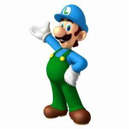 Blue Ice Luigi - Mario Kart Arcade Grand Prix DX