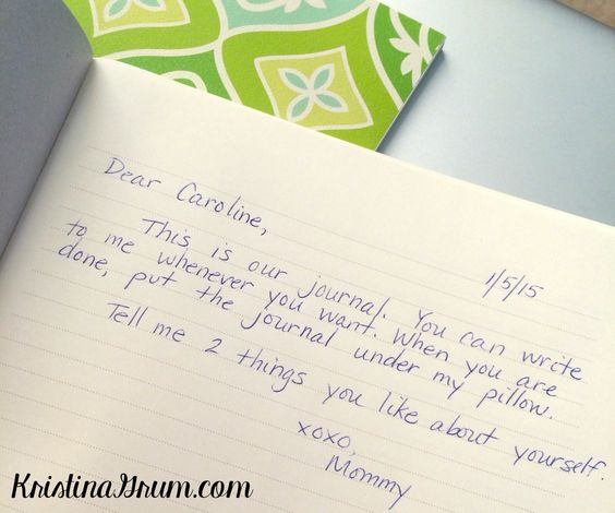 Mommy daughter journal