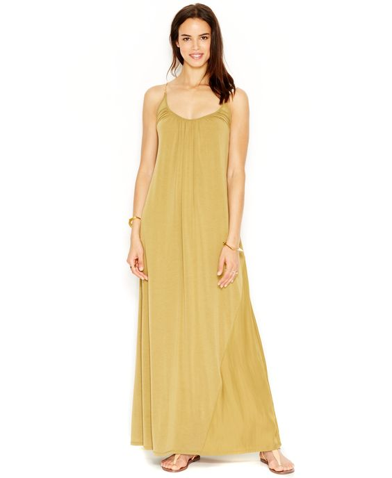 Rachel Rachel Roy Chain-Link Colorblock Maxi Dress