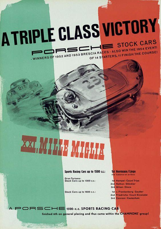 A Triple Class Victory, MMI Mille Miglia - 1950s