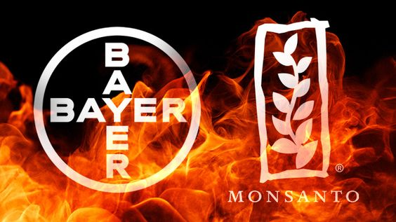 Monsanto to be acquired by Bayer - two giants profiting off of crimes against humanity...