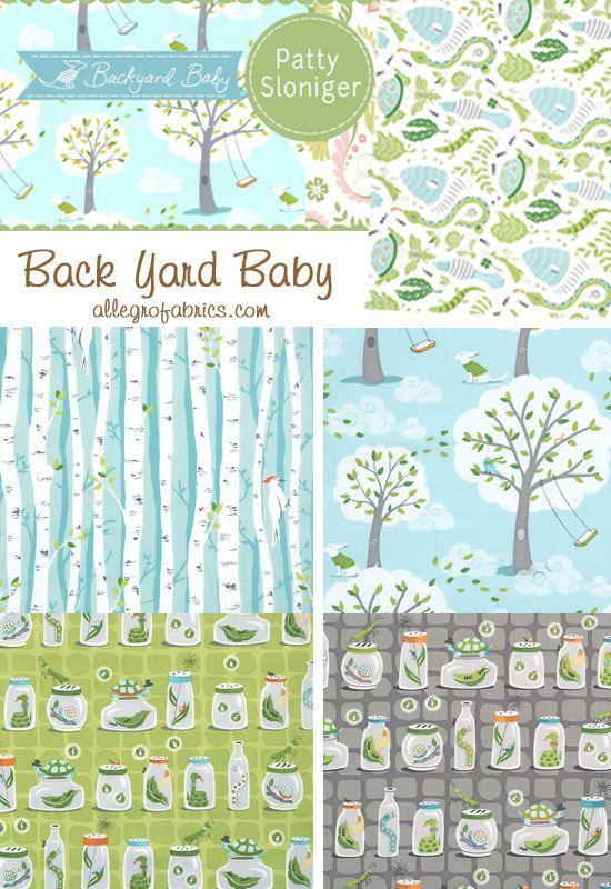 Merveilleux Michael Miller Backyard Back Yard Baby Fabric By AllegroFabrics, $9.75 | T  E X T I L E S | Pinterest | Baby Fabric, Michael Miller And Fabrics