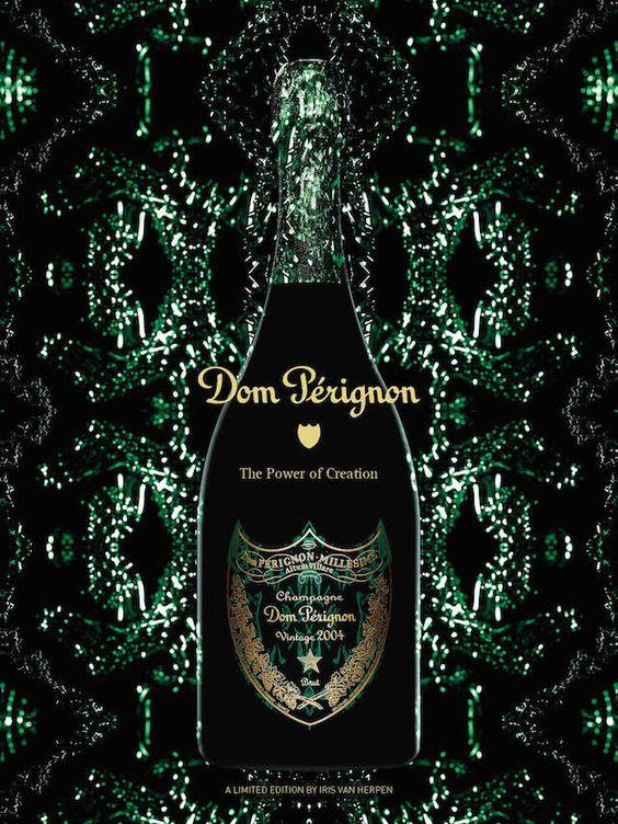 http://www.fubiz.net/2014/09/08/dom-perignon-vintage-2004-designed-by-iris-van-herpen/