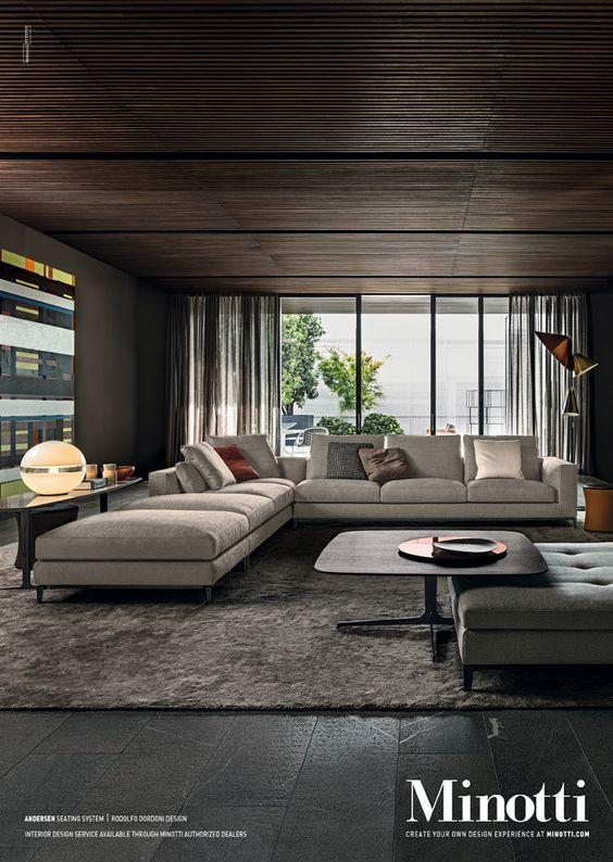 家具 ブランド メーカー インテリア イタリア ミノッティ 高級 ラグジュアリー モダン フォーマル