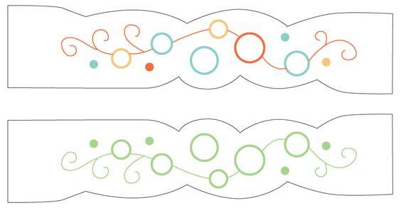 little dear tracks: Free bookmark Pattern