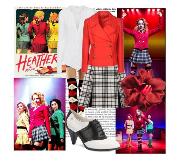 """""""Heather Chandler"""" by meta009 ❤ liked on Polyvore featuring James Perse, Carven, Bass and Heathers"""