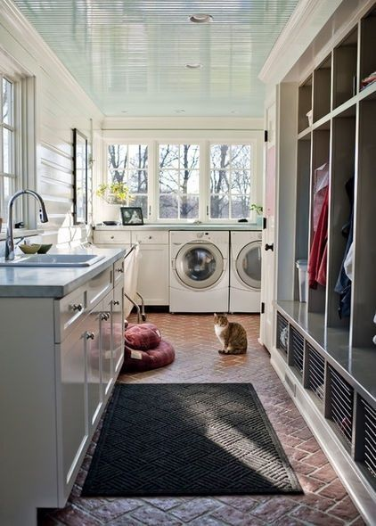 One of 25 dreamy laundry rooms picked out by Liz Marie: