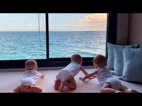وصول دكتورة خلود وامين والتوائم الى جزر المالديف Enjoyment The Originals World