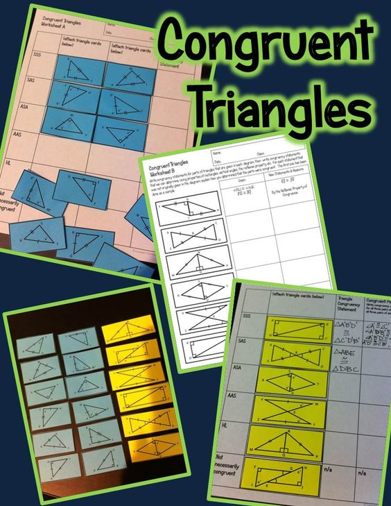 Proofs Involving Congruent Triangles Worksheet Answer Key  congruent triangles practice and