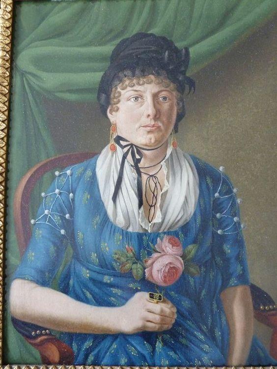 Jacob Schwarzenbach, 1803 Josina Swerner (1782-1855)
