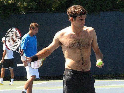 Shirtless Roger Federer Super Maestro Rf Perfect Wilson Tennis Racket Rf 97 Autograph 2018 2019 Roger Federer Tennis Players Body Electric