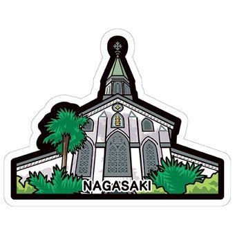 gotochi postcard nagasaki oura église catholique