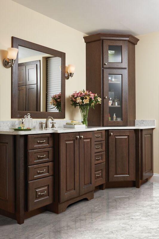 Semi Custom Kitchen Cabinets Bathroom Vanity Decor Custom