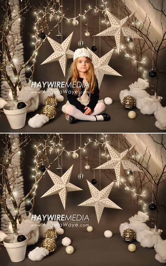 Decorados De Navidad Para Fotografos