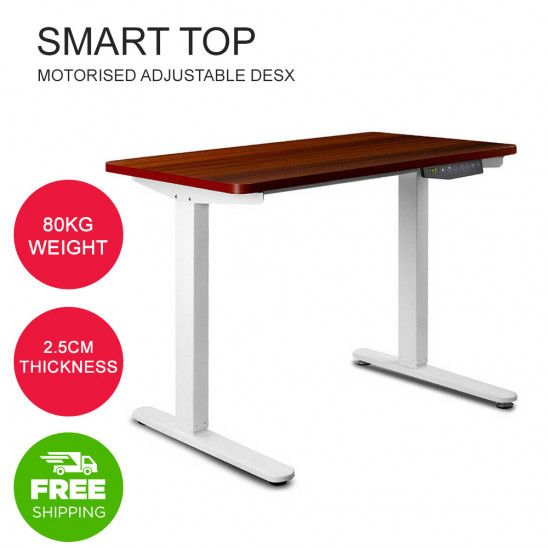 Height Adjustable Standing Desk Sit Stand Computer Desk Motorised Electric Table With Images Sit Stand Computer Desk Sit Stand Desk Adjustable Adjustable Height Standing Desk