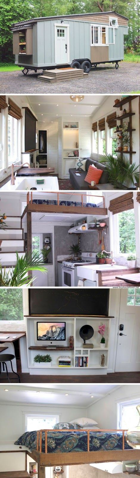 Tiny House And Small Space Living: