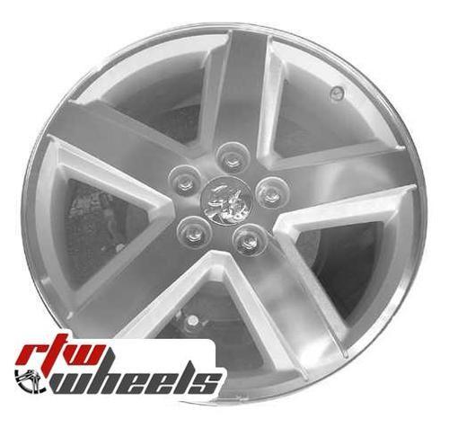 Dodge Avenger Wheels 2008 2010 18 Machined Silver Rims 2309 Dodge Avenger Chrome Rims Oem Wheels