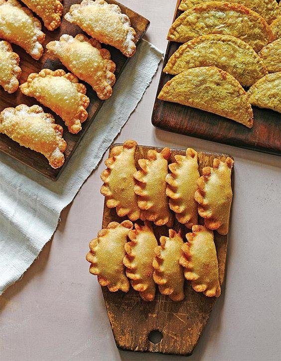 Empanadas de Viento (Empanadas with Queso Fresco) Jose Garces Recipes