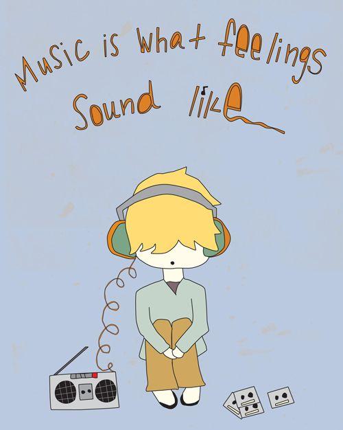 music.  [kind over matter]