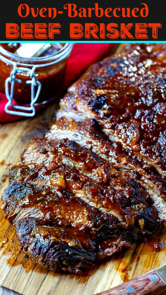 Oven Barbecued Beef Brisket Spicy Southern Kitchen Recipe Beef Brisket Recipes Recipes Beef Recipes
