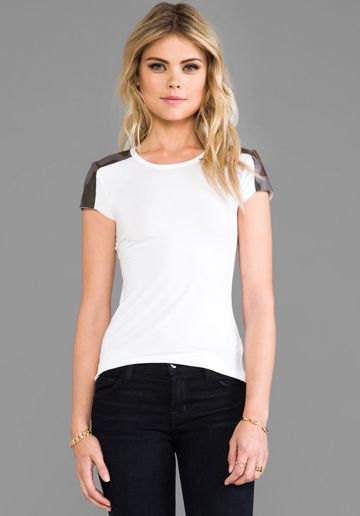Bailey 44 Girl Fight Top in White