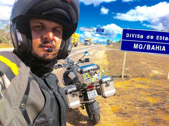 Dívida Bahia e Minas Gerais. Viagem de moto de Caxias - MA até Jundiaí - SP