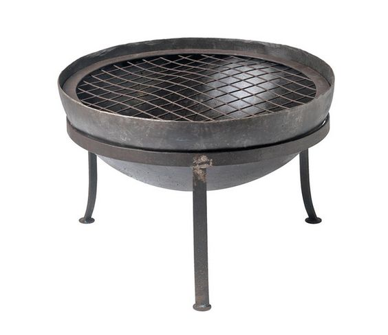 Small Fire Bowl - a simple fire pit like this would be great