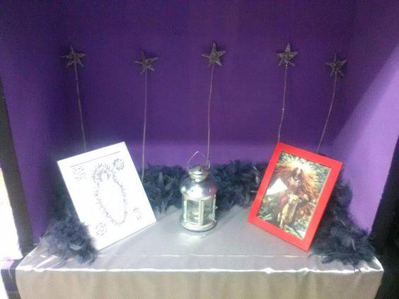 Mini-altar de Yule Septiembre 2017