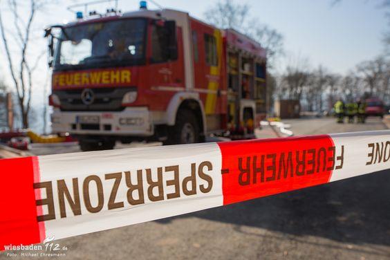 Defekter Flüssiggastank am Niederwalddenkmal beschäftigt Feuerwehr fast 20 Stunden lang | Wiesbaden112.de