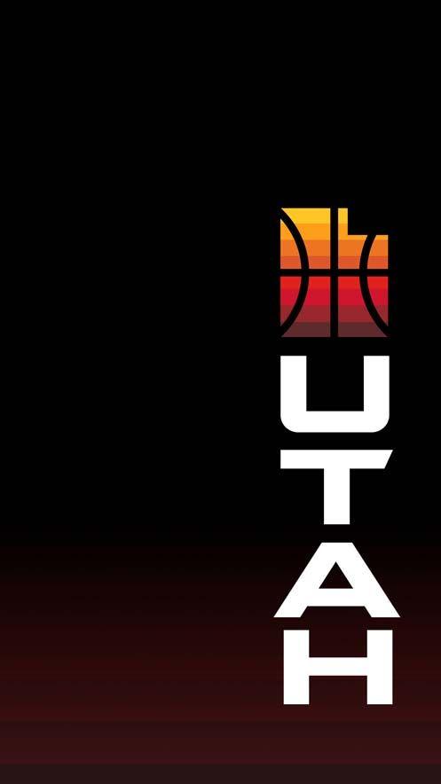 Official Utah Jazz Wallpaper Utah Jazz Basketball Wallpaper Sports Graphic Design