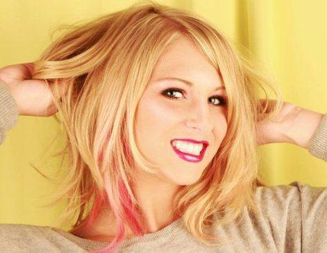 boo pink highlights! | hair styles | Pinterest | Pink, Pink highlights ...