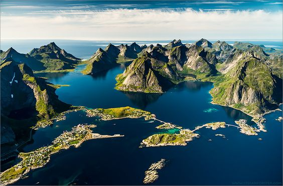 Last summer I chartered a Ultralight-Plane and flew over the Lofoten of Northern-Norway. This was just incredible! The light and the weather was perfect! Just like in a photographers dream.  Stefan Forster Photography www.stefanforster.com