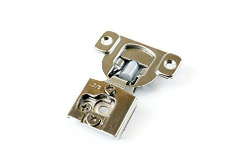 50 Pack Berta Face Frame Compact Contractors Grade Hinge With Soft Close Feature 6 Ways 3 Cam Adjustment 1 2 Inch Over Door Hinges Face Framing Cabinet Doors