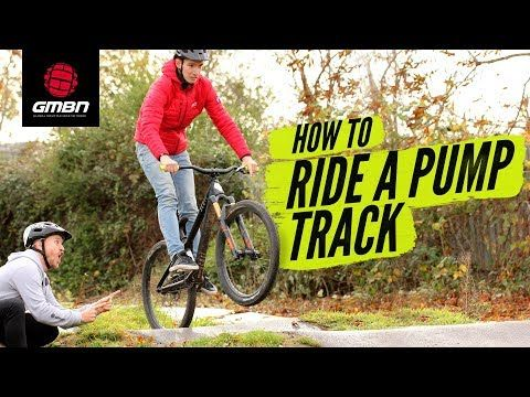 How To Ride A Pump Track Blake Teaches Gcn S Si Richardson Mtb Skills Youtube Mountain Bike Training Bike Training Riding
