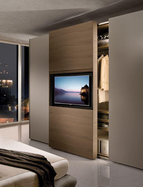 Etkileyici Ve Yenilikci 15 Modern Yatak Odasi Dolabi Farklifarkli Modernes Schlafzimmer Schlafzimmer Schrank Schlafzimmer Tv