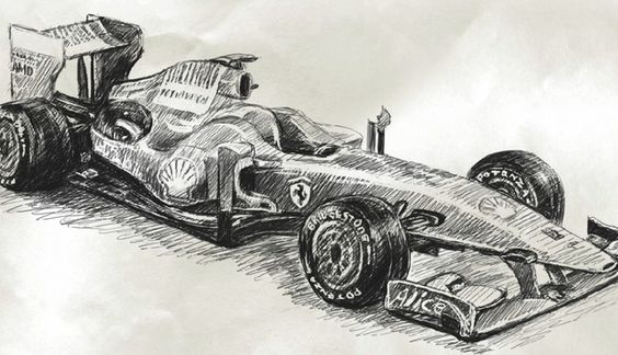 indy 500 coloring pages - how to draw indy cars how to draw car formula 1 ferrari