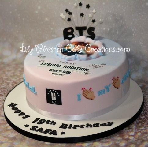 Bts Army Birthday Cake 07765 585591 Liverpool Online Cake Ordering Service Free Delivery Within Merseyside I Bts Cake 14th Birthday Cakes Army Birthday Cakes