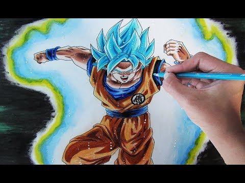 Youtube Cómo Dibujar A Goku Personajes De Dragon Ball Arte De Dragón