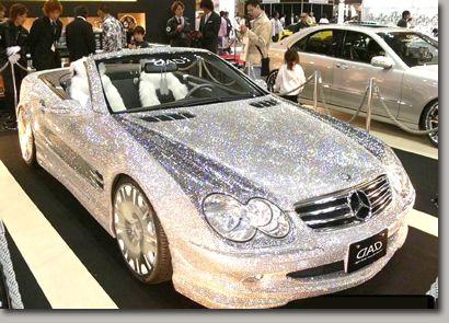 Diamond Studded Mercedes Worth 4 8 Million Bling Mink And