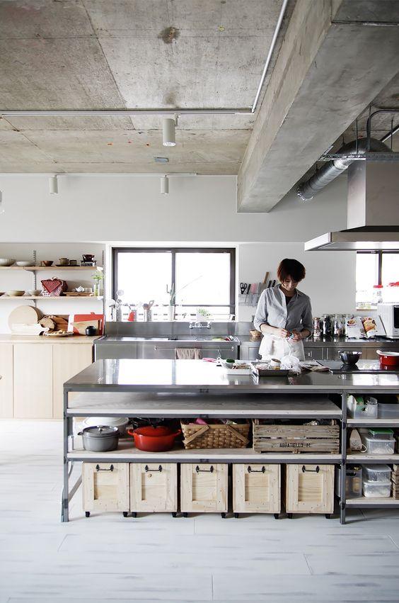 ステンレス キッチン フレーム Ⅱ型 イメージ サンプル